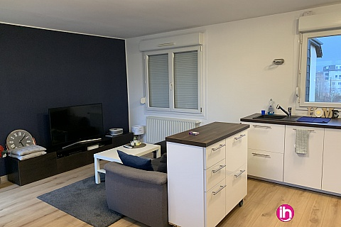 Location pour salarié en déplacement de meublé : LUXEMBOURG, Appartement meublé pour 1 à 4 personnes, Thionville