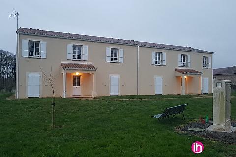 Location de meublé : CIVAUX, T4 Résidence Serentis N° 440, Bouresse