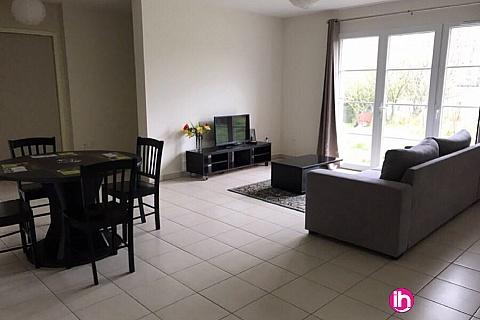 Location pour salarié en déplacement de meublé : CIVAUX, T4 Résidence Serentis N° 640, Bourresse
