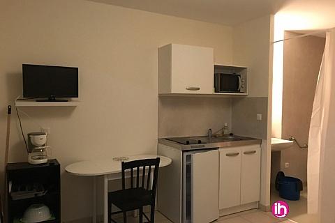 Location de meublé : CIVAUX, Studio Résidence Serentis N° 611, Bouresse