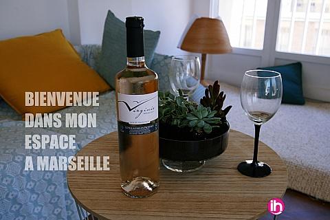 Location pour salarié en déplacement de meublé : MARSEIILE, appartement refait à neuf, vue sur le vieux port, Marseille