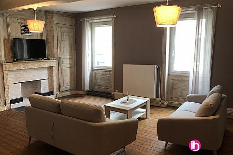 Location de meublé : Appartement 2/6 pers idéal CNPE UFPI PIPA 110m²