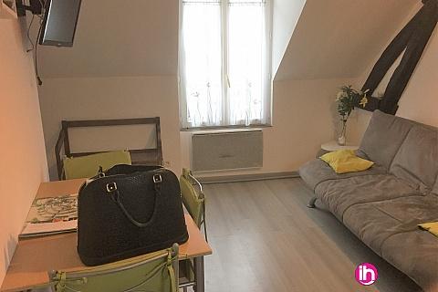 Location pour salarié en déplacement de meublé : DAMPIERRE appartement à 12 min à SAINT PERE SUR LOIRE