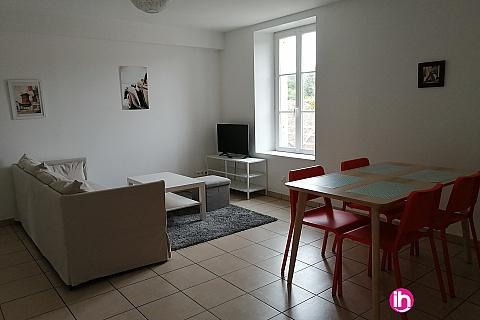 Location pour salarié en déplacement de meublé : BELLEVILLE DAMPIERRE Apppartement de type T3
