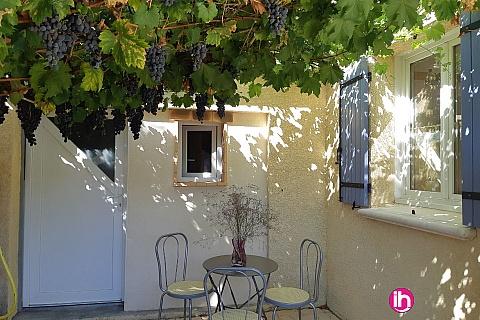 Location pour salarié en déplacement de meublé : Sète Studio 35M² type T1 terrasse clim Balaruc- les- Bains