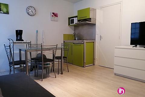 Location de meublé : BELLEVILLE Appartement de type T2 avec terrasse couverte à LERE