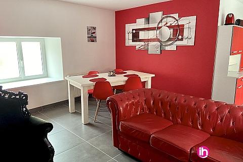 Location pour salarié en déplacement de meublé : FLAMANVILLE EPR  2 CHAMBRES gîte **meublé  1mm DE EPR