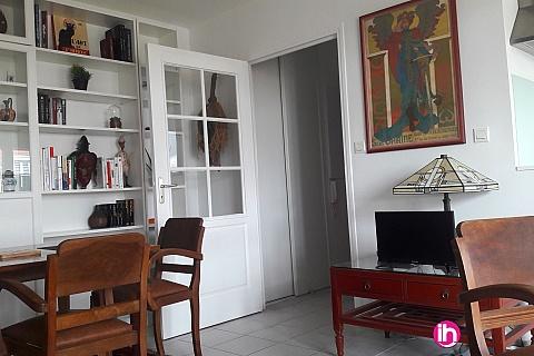 Location de meublé : PARIS CDG, Appartement F2 45m2 tout confort