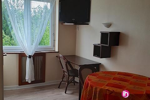 Location de meublé : Saint Alban appartement 28 m² confortable à Clonas sur Vareze