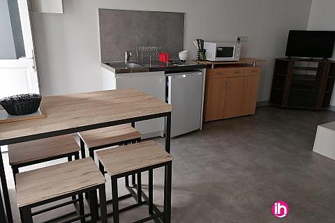 Location de meublé : DAMPIERRE STUDIO AVEC TERRASSE A GIEN