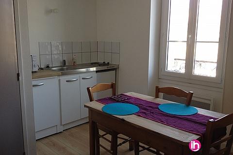 Location pour salarié en déplacement de meublé : CIVAUX Studio 1 à 2 pers. à Lussac les Châteaux, à moins de 10 min de Civaux sur l'axe Poitiers Montmorillon,