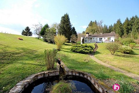 Location de meublé : LIMOGES : Maison au bord d'un étang privé Compreignac