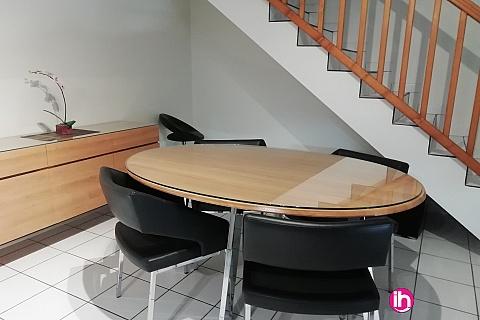 Location de meublé : VIENNE  Duplex 104 M2  3 chambres