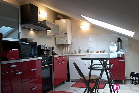 Location pour salarié en déplacement de meublé : CATTENOM THIONVILLE Appartement type F2 pour 1-2 pers. à 15 mn