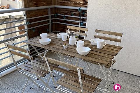 Location de meublé : MARSEILLE, Logement T3 agréable et confort à 5 minutes des terrasses du port, Marseille