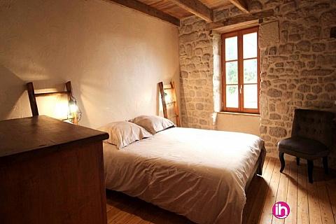 Location de meublé : LIMOGES : Jolie maison en pierre 3 chambres Saint-Sylvestre