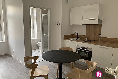 Location de meublé : THIONVILLE CATTENOM Appartement N° 1 neuf face gare 1 - 2 PERS  (+ 19 m2)