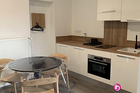 Location pour salarié en déplacement de meublé : THIONVILLE CATTENOM Appartement N° 1 neuf face gare 1 - 2 PERS  (+ 19 m2)
