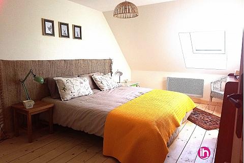 Location pour salarié en déplacement de meublé : MACON-LE CREUSOT Duplex T3, Calme, authenticité et confort , Passy