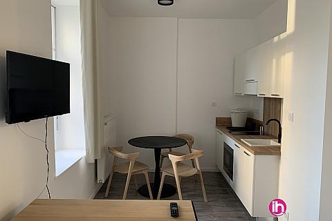 Location de meublé : THIONVILLE CATTENOM Appartement N° 4 neuf face gare 1 - 2 PERS  (+ 15 m2)