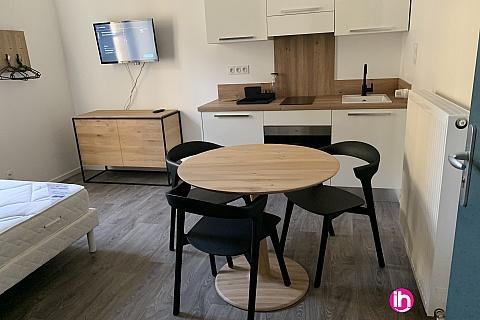 Location pour salarié en déplacement de meublé : THIONVILLE CATTENOM Appartement N° 6 neuf face gare 1 - 2 PERS  (- 15 m2)