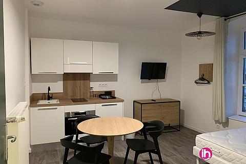 Location pour salarié en déplacement de meublé : THIONVILLE CATTENOM Appartement N 13 neuf face gare 1 - 2 PERS  (- 15 m2)