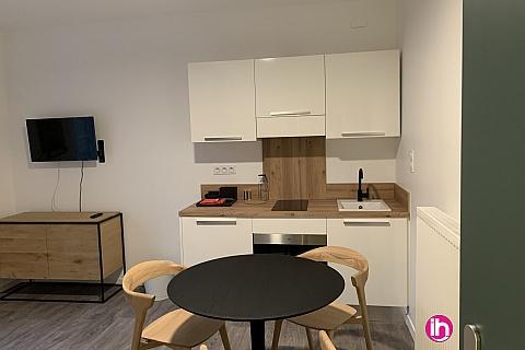 Location pour salarié en déplacement de meublé : THIONVILLE CATTENOM Appartement N° 16 neuf face gare 1 - 2 PERS  (- 15 m2)