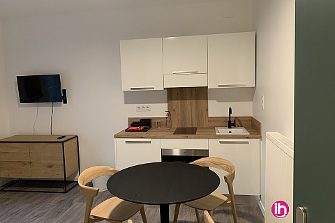 Location de meublé : THIONVILLE CATTENOM Appartement N° 16 neuf face gare 1 - 2 PERS  (- 15 m2)