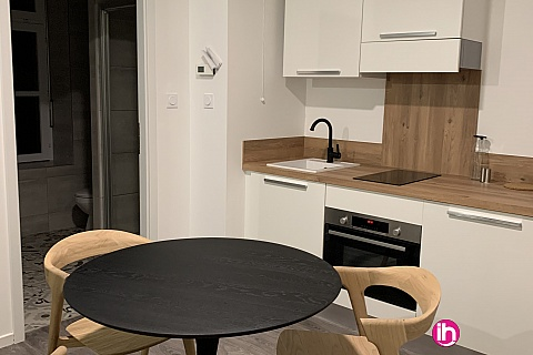 Location de meublé : THIONVILLE CATTENOM Appartement N° 18 neuf face gare 1 - 2 PERS  (+ 19 m2)