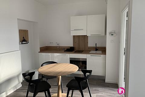 Location de meublé : THIONVILLE CATTENOM Appartement N° 21 neuf face gare 1 - 2 PERS  (+ 19 m2)