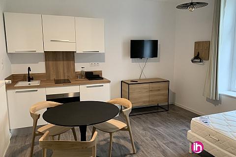 Location pour salarié en déplacement de meublé : THIONVILLE CATTENOM Appartement N 23 neuf face gare 1 - 2 PERS  (+ 15 m)