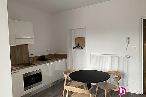 Location de meublé : THIONVILLE CATTENOM Appartement N° 28 neuf face gare 1 - 2 PERS  (+ 19 m2)