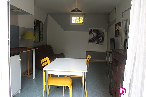 Location de meublé : Marcoule Studio centre ville de Bagnols sur Ceze