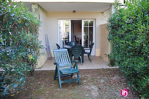 Location de meublé : Lacanau-Océan T2 rez-de-jardin au calme