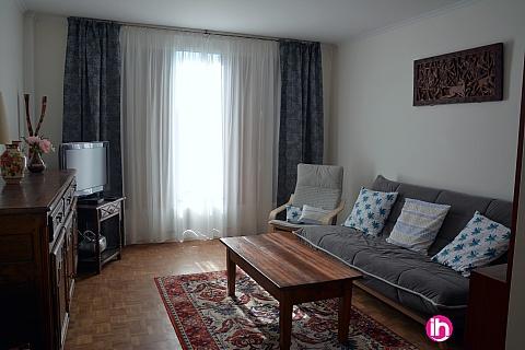 Location pour salarié en déplacement de meublé : MONTREUIL APPARTEMENT UNE CHAMBRE TOUT CONFORT