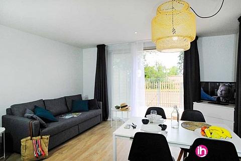 Location de meublé : BLAYAIS,bel appartement T2 centre de jonzac