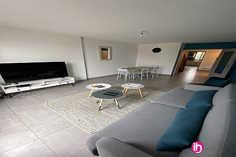 Location de meublé : BUGEY, Grand appartement 3 chambres