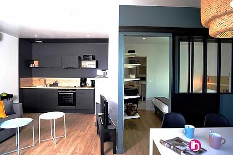 Location de meublé : BLAYAIS, appartement T2 centre de JONZAC