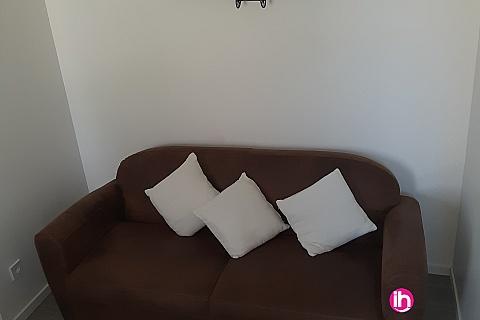 Location de meublé : BLAYAIS bel appartement neuf ,2 chambres , jonzac