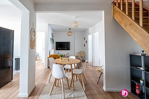 Location de meublé : DRANCY Appartement tout confort 3 chambres à Drancy