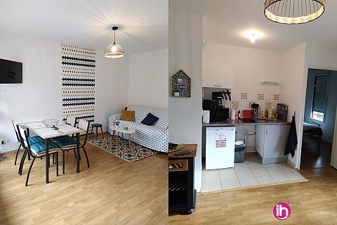Location de meublé : ARRAS, Agrable T2 avec Balcon, Arras