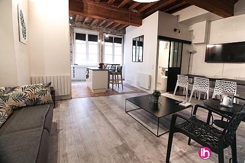Location de meublé : LYON, Le calme au coeur des Traboules, pour 6 personnes, vieux Lyon centre ville