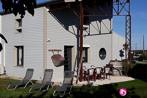 Location de meublé : SAINTES-ROYAN, appartement les VENDANGEURS, accès jacuzzi, proximité BLAYAIS