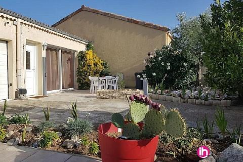 Location de meublé : VALENCE ,Agréable maison 4 étoiles au calme, Les portes les Valence