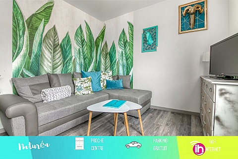 """Location pour salarié en déplacement de meublé : TROYES BEAU T2 """"NATUREA"""""""