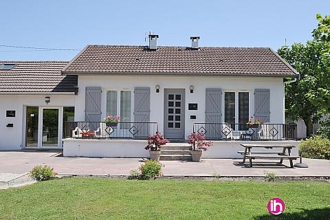 Location de meublé : BUGEY, La villa Morestel