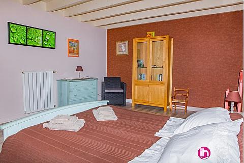 Location de meublé : CIVAUX CHAUVIGNY Chambre Chèvrefeuille tout confort 1 personne