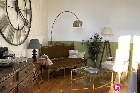 Location de meublé : BLAYAIS, grande maison 4 chambres, SEMILLAC