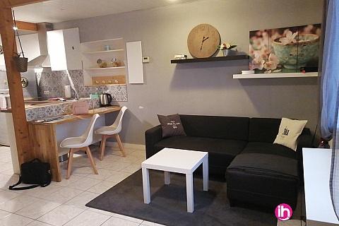 Location de meublé : LENS CHARMANT T2 REFAIT A NEUF