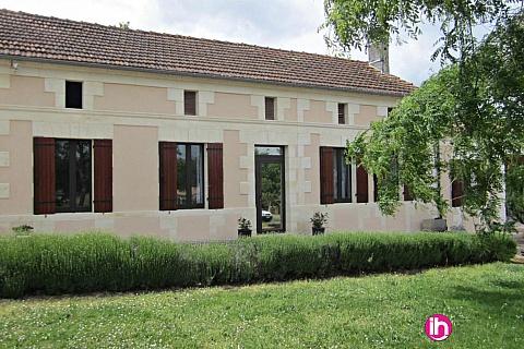 Location pour salarié en déplacement de meublé : BLAYAIS ,maison au cœur des vignes ,MARCILLAC